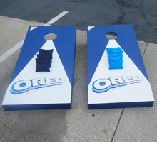 Nabisco Oreo Cookie Custom Cornhole Boards